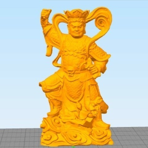 547f1c844842802e6284411acf297c23_preview_featured.jpg Download free STL file 4 Guardians on South Gate of Heaven Palace • 3D printable template, stronghero3d