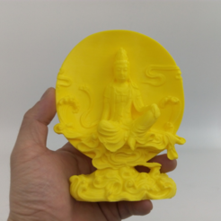 "Fichier STL gratuit powered by ""Guanyin"", stronghero3d"