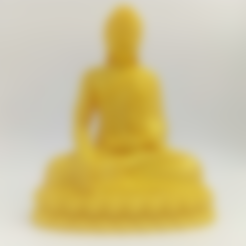 Download free 3D printer designs Thailand Buddha, stronghero3d
