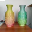 Capture d'écran 2017-07-24 à 14.01.25.png Download free STL file flower Chinese bottle • 3D printing template, stronghero3d
