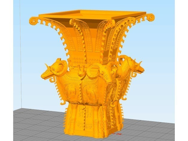 ea5adbe512e03956883e7fca0693557a_preview_featured.jpg Download free STL file Square bottle with Four Sheep • 3D print model, stronghero3d
