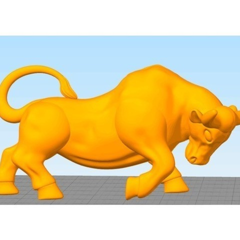5e1d7648c4b635dae3c1443b0fec5f6e_preview_featured.jpg Download free STL file bull • 3D printer template, stronghero3d