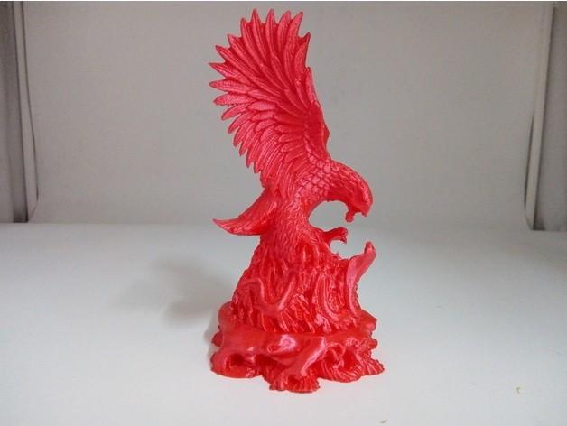 Eagle Cobra 3D Printer.jpg Télécharger fichier STL gratuit Eagle vs Cobra • Objet imprimable en 3D, stronghero3d