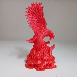 Free 3D print files Eagle vs Cobra, stronghero3d