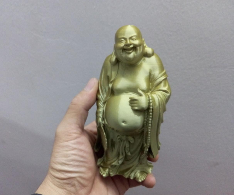 Capture d'écran 2016-11-23 à 16.44.20.png Download free STL file Smilling Buddha • 3D printing design, stronghero3d