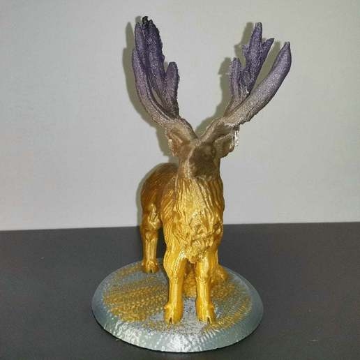 IMG_20200904_082658.jpg Download free STL file Elk deer • 3D printing template, stronghero3d