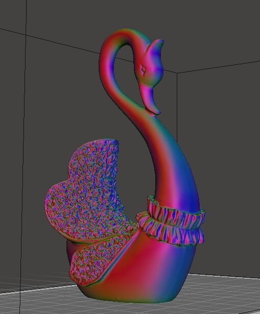 71245481f93f8f76242623dbed1ba4bc_display_large.jpg Download free STL file Stronghero3D A pair of Swans • Model to 3D print, stronghero3d