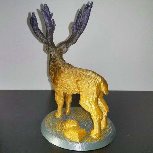 IMG_20200904_082637.jpg Download free STL file Elk deer • 3D printing template, stronghero3d
