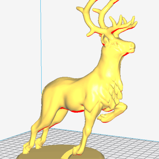 20200903175707.png Download free STL file A lovely deer • 3D printing template, stronghero3d