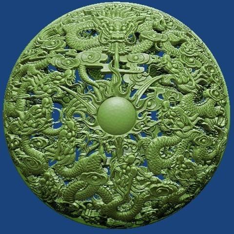 dragon ball 01.jpg Télécharger fichier STL 9 balles de dragon de stronghero3d • Plan à imprimer en 3D, stronghero3d