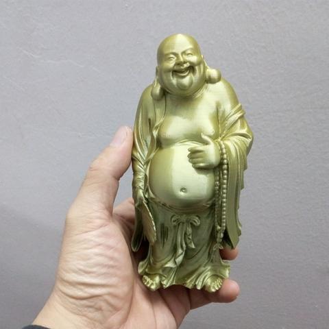Capture d'écran 2016-11-23 à 16.44.14.png Download free STL file Smilling Buddha • 3D printing design, stronghero3d