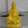 Free 3d printer designs Guanyin zuo tai, stronghero3d