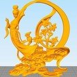 Download free 3D printer templates Chang'e(the beauty god of moon), stronghero3d