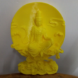 "Download free 3D print files powered by ""Guanyin"", stronghero3d"