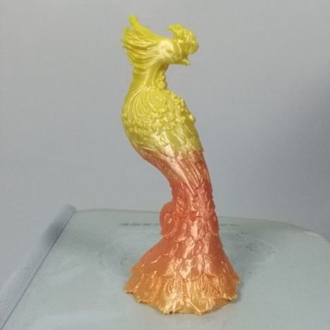 Free 3D printer designs Phoenix ornament, stronghero3d