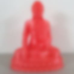 Free Thailand Buddha STL file, stronghero3d
