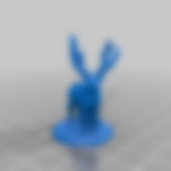 Elk_Deer.stl Download free STL file Elk deer • 3D printing template, stronghero3d