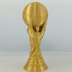 STL gratuit Réplique de Coupe du monde solide, stronghero3d
