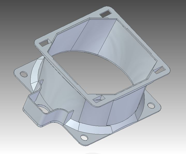 Capture.JPG Download free STL file Duct fan 8cm • 3D printing object, motology