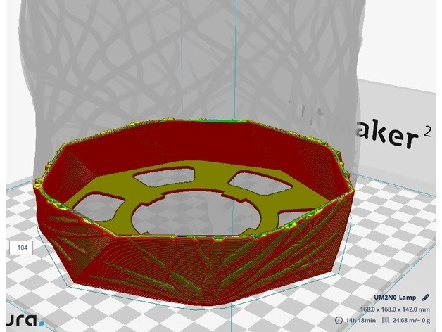 c.jpg Download free STL file Lamp Branches 2 • Template to 3D print, JaimeGR