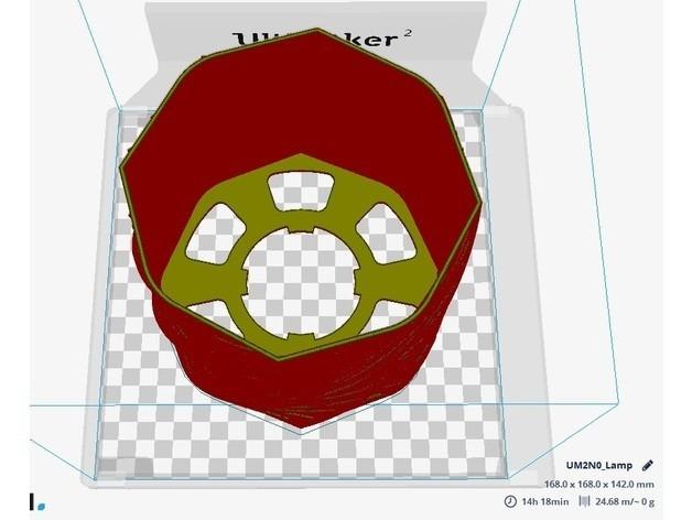 d.jpg Download free STL file Lamp Branches 2 • Template to 3D print, JaimeGR