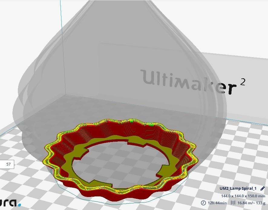 1.jpg Download free STL file Roof Lamp Spiral_1 • 3D printing design, JaimeGR