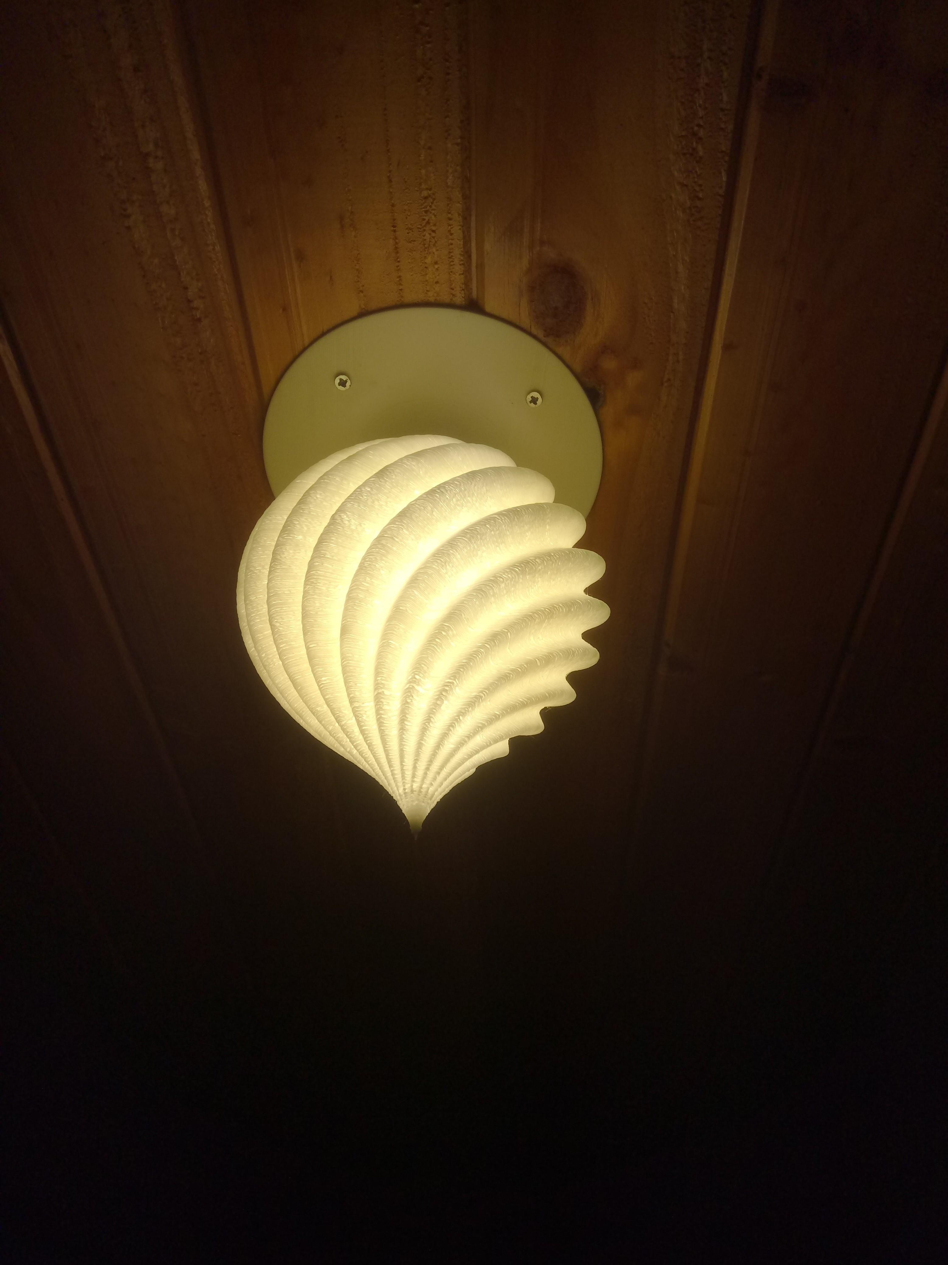 DSC_3704.JPG Download free STL file Roof Lamp Spiral_1 • 3D printing design, JaimeGR