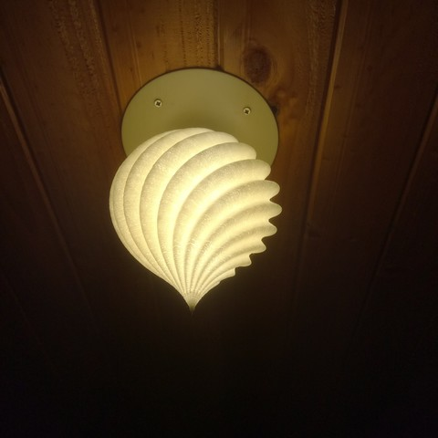 new concept 1dcba 682af Download free STL files Roof Lamp Spiral_1 ・ Cults