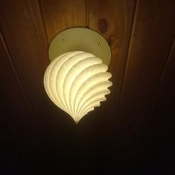 Impresiones 3D gratis Roof Lamp Spiral_1, JaimeGR