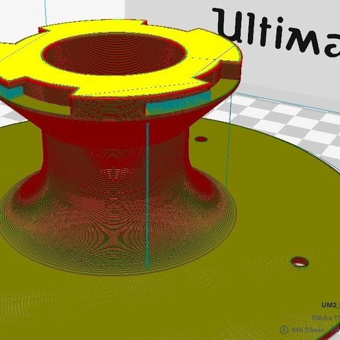 2.jpg Download free STL file Roof Lamp Spiral_1 • 3D printing design, JaimeGR