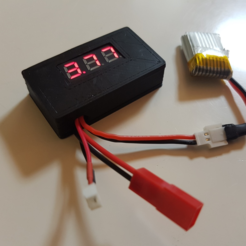 Free 3D printer designs Voltmeter housing, eirikso