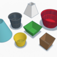 Free stl file Customisable Flower Pot, bowl or vase, eirikso