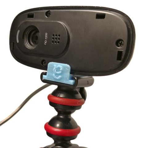 Télécharger fichier 3D gratuit Logitech C270 Webcam Guerrilla Tripod Mount C270, edditive