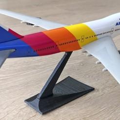 IMG_20200121_184324.jpg Télécharger fichier STL gratuit Stand de maquettes d'avions à créneaux • Objet pour impression 3D, edditive