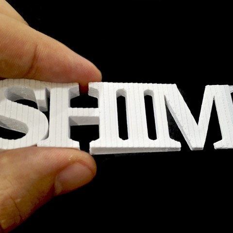Download free STL Shim the shim, edditive