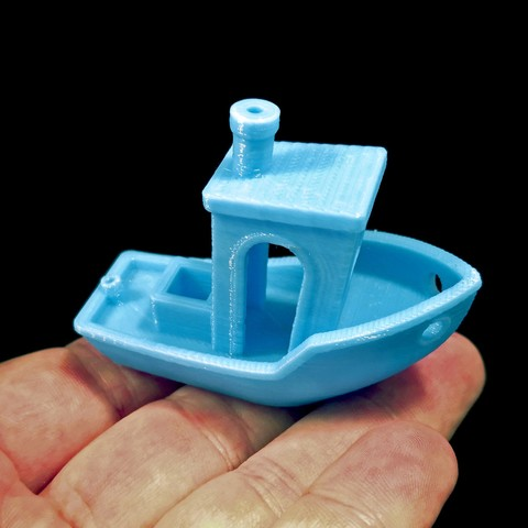 3D printer #3DBenchy - The jolly 3D printing torture-test