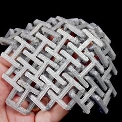 Plan imprimante 3D gatuit Chainmail - Tissu imprimable 3D, edditive