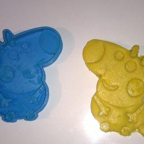 CATOIRAF 2.jpg Download STL file cookie cutter Peppa_Pig_Cookie_cutter, cookie cutter • 3D printer design, catoiraf