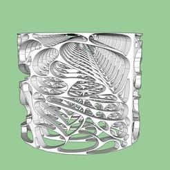 Modelos 3D gratis VORONOIDE CICRULAIRE, nicobelix