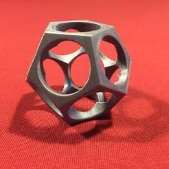 Download free 3D printer designs Polyhèdre pentagonal , nicobelix