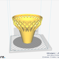 Download STL file PolyLamp • Template to 3D print, nicobelix