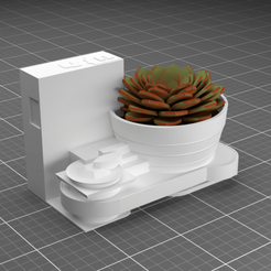 GG02.effectsResult.png Download STL file NYC Guggenheim Museum Planter • 3D printer object, Cow3D