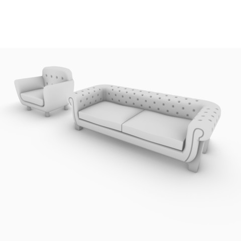 Download 3D printing models Armchair and coach, pipenagos