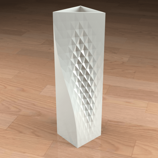 Download 3D printing files TEXTURED VASE, Cow3D
