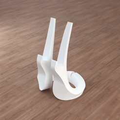 Download 3D printer model Loop Phone Stand, Cow3D