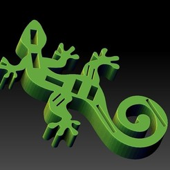 2.jpg Download STL file USB/SD Gecko • 3D printable template, angelique65