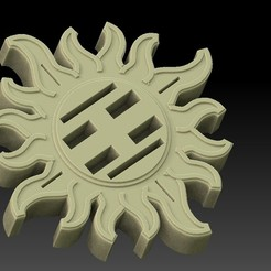 Download free 3D printing models USB/SD sun, angelique65