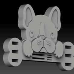 Download STL file USB/SD French dog • 3D printable design, angelique65