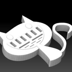 Download STL file USB/SD cat • 3D printer object, angelique65