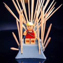 3D printer file Wooden Throne, ralphzoontjens